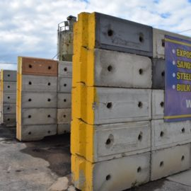 Concrete Locking Blocks